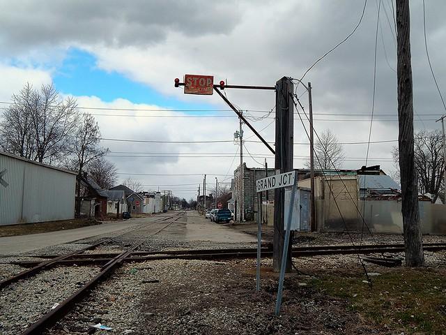 Stop signal at Kokomo Indiana