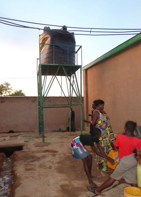 Agua potable para Gbadolite en RD Congo