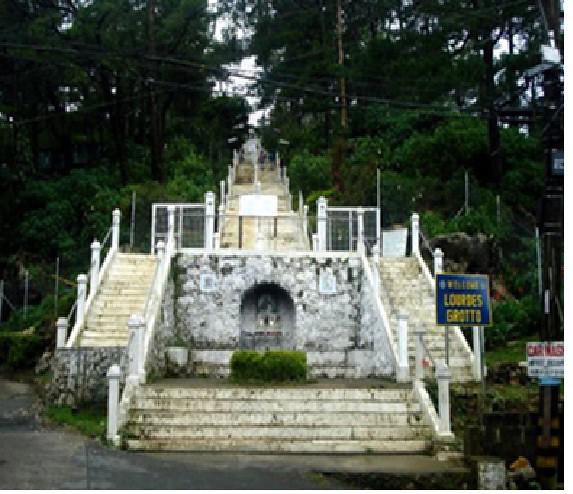 berna lourdes grotto