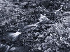 Waterfall, Ashness Bridge (B&W conversion)