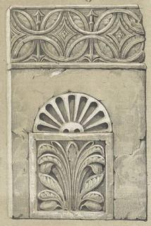 Placa nicho del Baño de la Cava según C. Legrand para el Álbum artístico de Toledo de Manuel Assas. 1848 | by pedro.riaza
