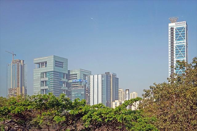 Un des centres d'affaires (Mumbai, Inde)