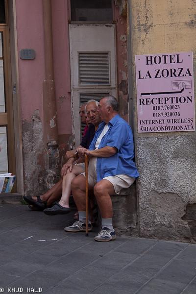 Manarola,Toscana, Old men