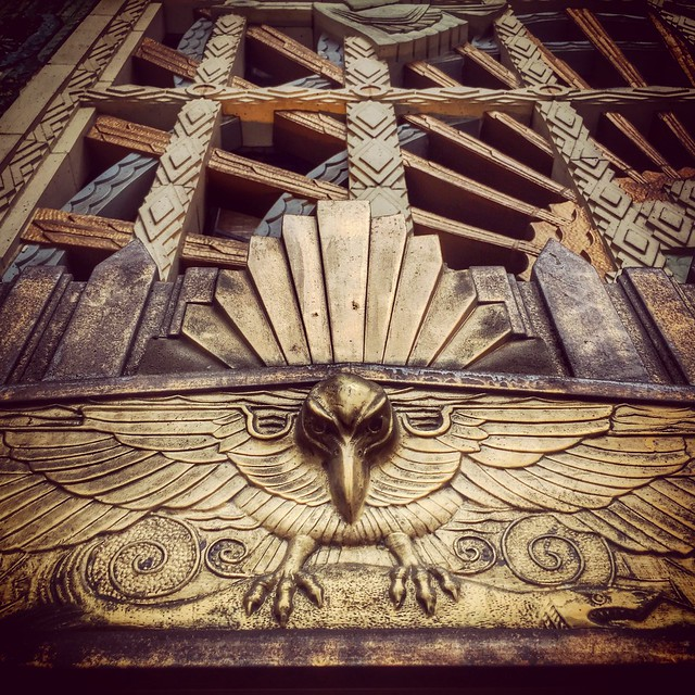 Marine Building Detail: Bird
