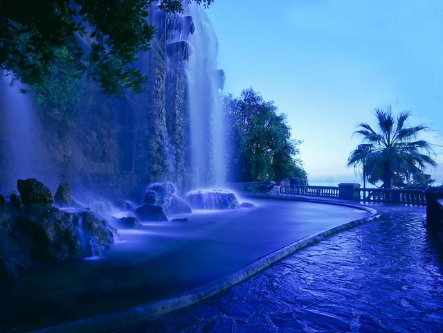 la cascade du chateau, Nice
