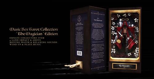 !Ohmai Music Box Tarot Collection : 'The Magician' Edition