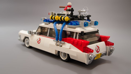 Lego Ghostbusters Ecto-1 Light Mod 03 | by M600
