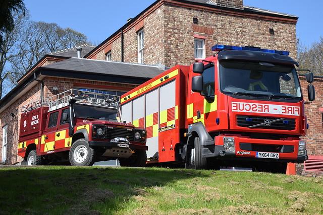 North Yorkshire - YJ60FOF & YK64GRZ - Malton