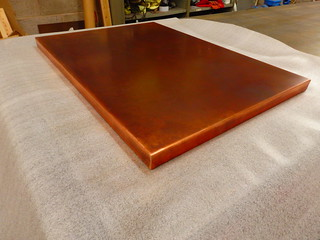 72 - Bronze Copper top   by Metal Sheets Limited