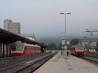 Slovenske železnice - Ljubljana - zelezniska postaja (23.08.2009)