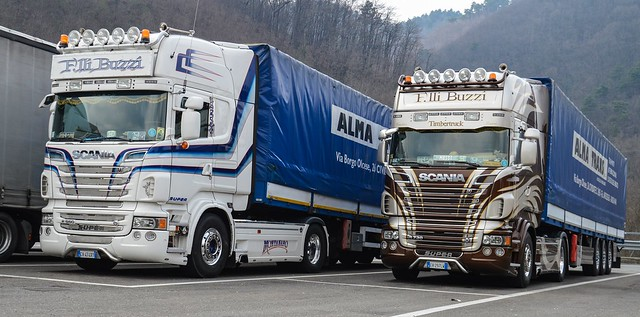 I-F.lli Buzzi >Alma Trans< Scania V8 R730 TL & Scania V8 R560 TL