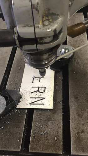 1:1 Sign making on the pantograph at C.C. Stern Type Foundry