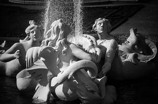 fountain nymphs, belvedere, vienna, austria | by franzj