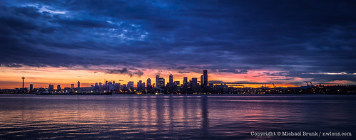 Cloudy Seattle Sunrise | by Michael @ NW Lens