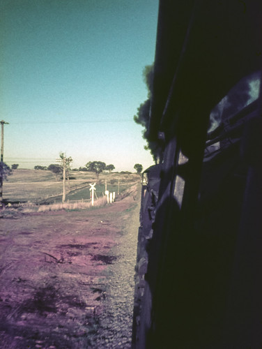 film nature landscape transport australia slide trains steam special newsouthwales passenger halfframe aus olympuspen railways filmscan continents levelcrossing amaroo agfact18 canonpixmamg8150