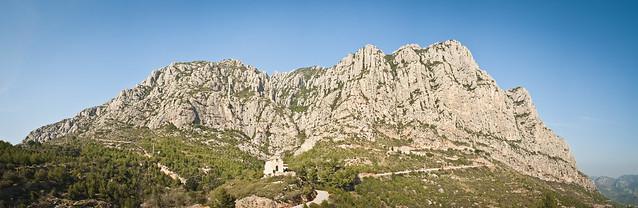 Montserrat des de Collbató