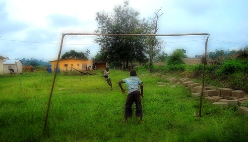 poverty life africa real idea football kid village play soccer dream young dreaming future ivorycoast cotêdivoire goberi