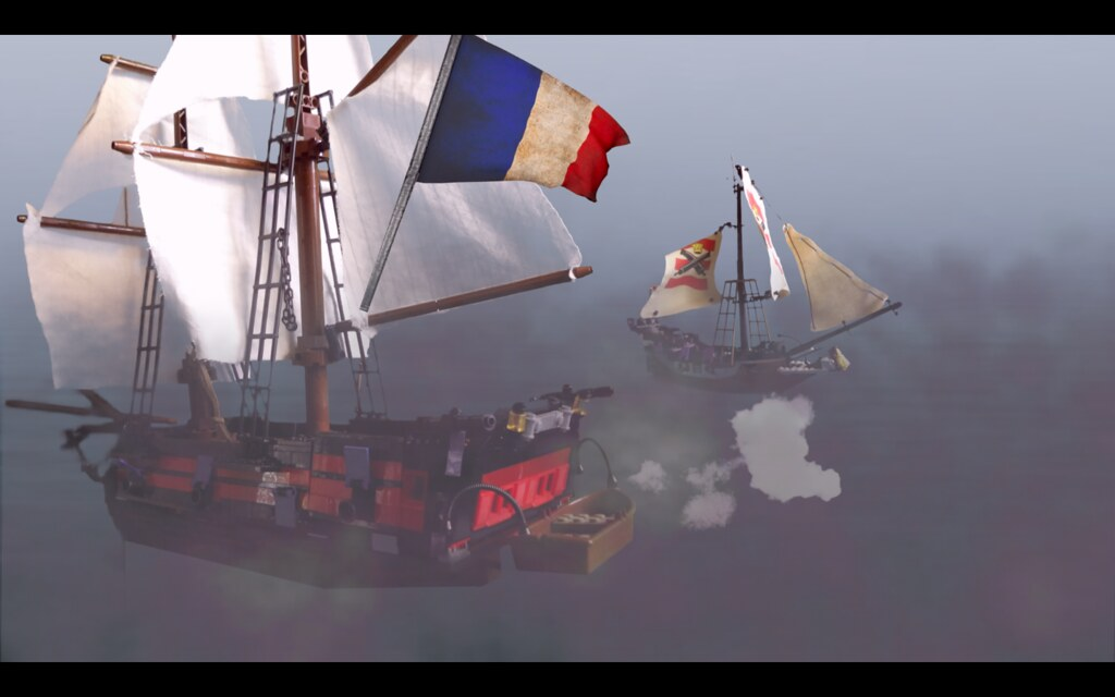 Acheron engages HMS Surprise