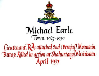 Earle, Michael (1913-1937) | by sherborneschoolarchives