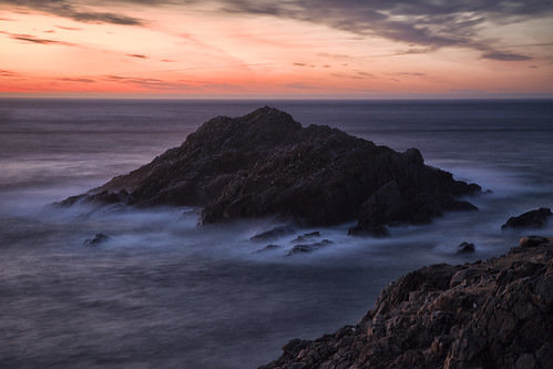 sunset point scotland long exposure sutherland strathy