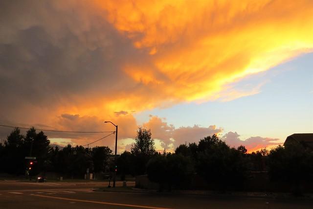 Crossroad Sunset