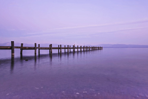 california ca sunset usa lake water pier us tahoe laketahoe wharf pinks glassy