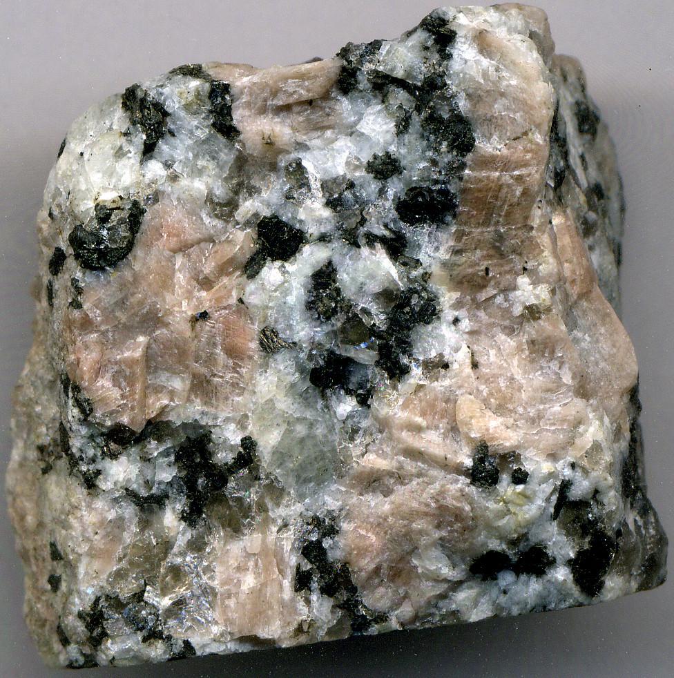 Porphyritic Granite Precambrian St Cloud Area Minnesot