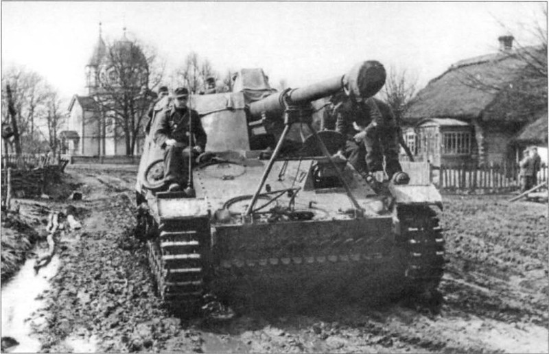 Sd.Car. 164 Panzerjager Nashorn-Hornisse