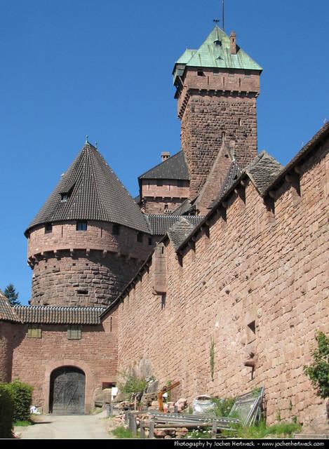 Château du Haut-Kœnigsbourg, Alsace, France