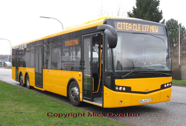 Brand new VDL Citea demobus 3.12.2009
