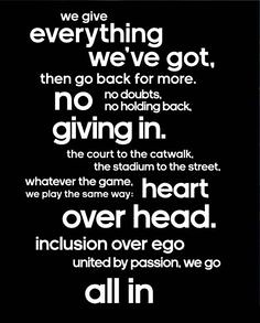 Inspirational Sports Quotes For Girls Volleyball Via Quote