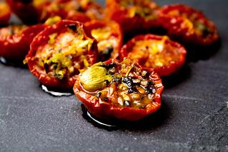 pomodorini confit - confit cherry tomatoes