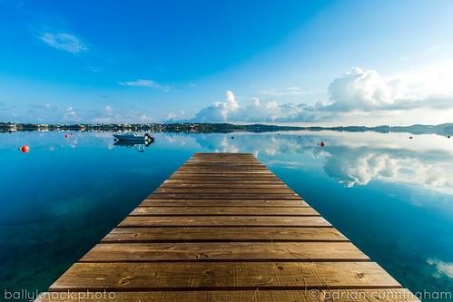 ocean island boat dock paradise atlantic bermuda