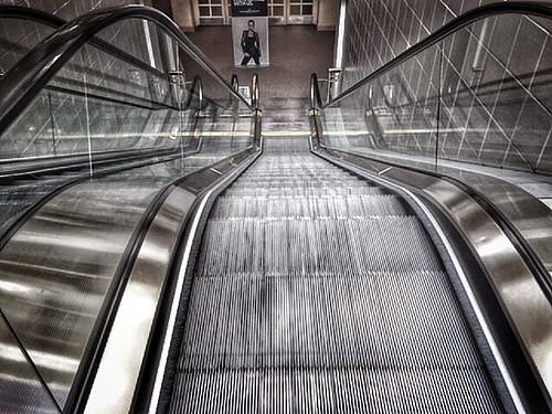 architecture shiny escalator longviewdown