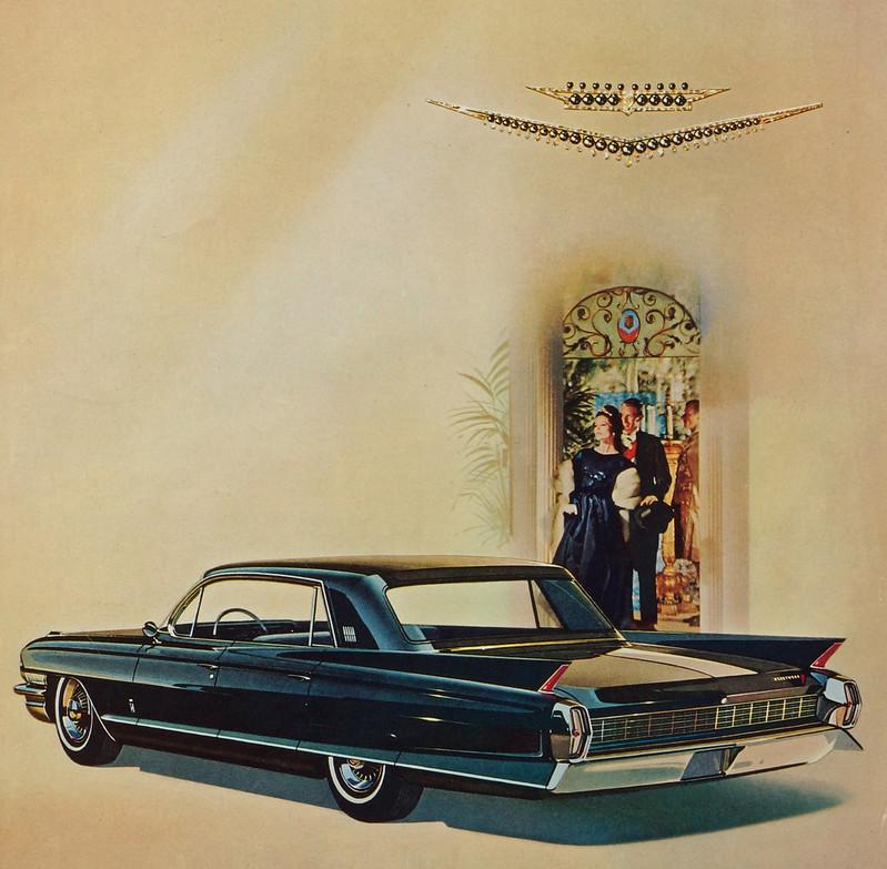 CM037 1961 Cadillac Car Ad Framed DSC04437 crop