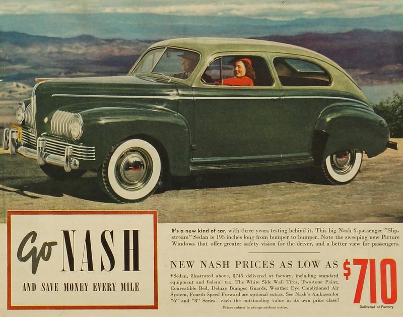 CM001 Nash Car Ad Framed DSC04121 crop1