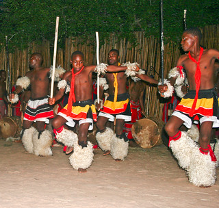 Tribal Warrior Dance South Africa