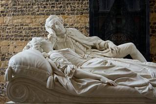 Carlini's Damer tomb