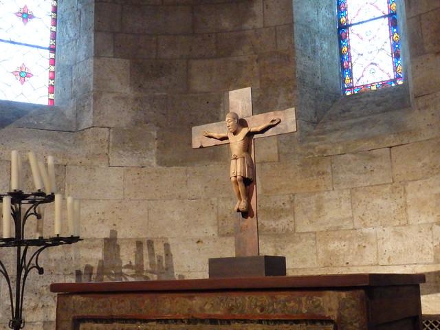 Crucifix and altar