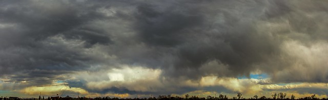 042115 - Nebraska Skyscape (Pano)