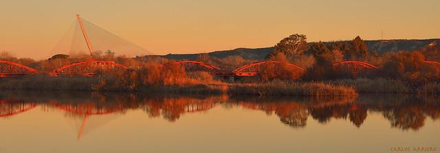 Puentes sobre el río Tajo (Talavera de la Reina, España)
