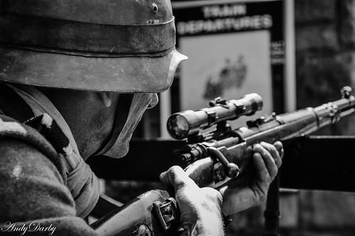 Sniper Taking Aim
