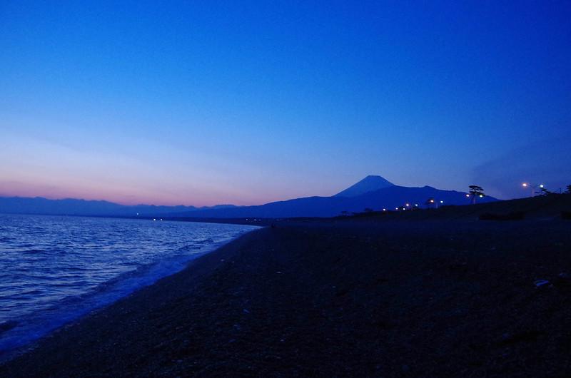 標高ゼロから富士山
