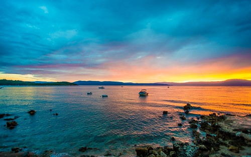 sunset sea summer islands nocturnal croatia adriatic adriaticsea krk tamron1735284 krkisland islandkrk nikond600