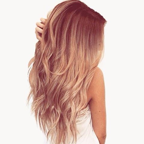 Gold blonde balayage #hair #color #brown #gold #blonde #go