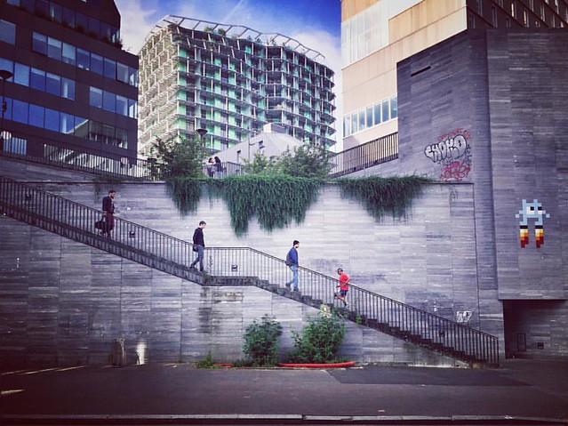 The climb #street #streetart #stairs #urban #urbanart #city #paris #instadaily