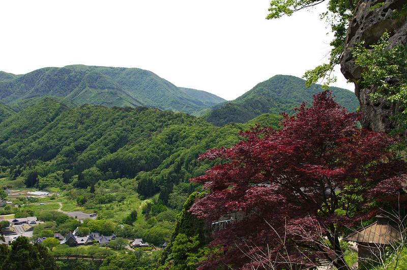 Vue sur Yamadera