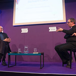 Richard Coles Chaired by Richard Holloway | 80s pop sensation-turned Reverend, Richard Coles, speaks to Chair Richard Holloway at the Book Festival © Alan McCredie