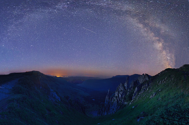 The Milky Way above the Carpathians - Млечный путь над Карпатами