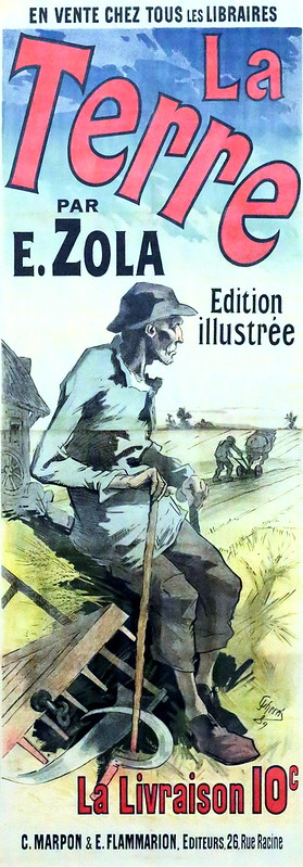 IMG_0121 ? Publicité pour le roman la Terre de Emile Zola. Advertising for the novel, Earth, Emile Zola.  Hannover